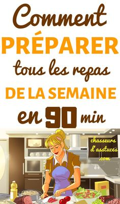 COMMENT PRÉPARER LES REPAS POUR LA SEMAINE EN SEULEMENT 90 MINUTES Partagez Enregistrer 0 PARTAGES On n'a pas toujours le temps nécessaire ou simplement pas l'envie de préparer des repas.  La clé pour ne pas passer tout son dimanche après-midi dans la cuisine est d'avoir un plan. J'ai suivi une blogueuse nommée Leanne Miyasa, qui a créé un système rapide qui lui permet de préparer tous les repas de la semaine en seulement 90 minutes.  « Mon objectif, #chasseursdastuces Peaceful Parenting, Le Diner, Attachment Parenting, Batch Cooking, Family Life, Family Meals, Meal Prep, Activities For Kids, Diet