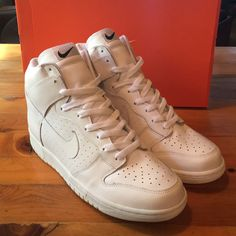 best sneakers eb373 ded58 Nike Shoes   Nike Dunk High - White   Color  White   Size  11