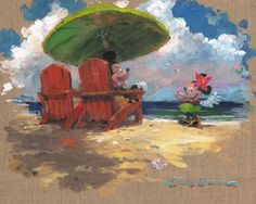 Shore front Hula - Art and Paintings by Artists Wyland, James Coleman, Rodel Gonzalez, Dan Mackin,