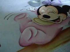 Dicas Artes da Ju Baby - pintando chão de grama em fraldas - YouTube