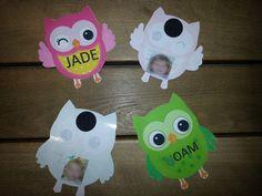 Paper owl templates