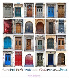 Puertas. París