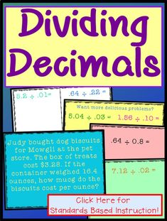 How To Produce Elementary School Much More Enjoyment Ideas Will Teach Kids To Divide Decimals By Decimals With Teaching Strategies For Upper Elementary Students And Grade. This Powerpoint Lesson Includes Steps, Practice, Word Problems Activities Includ Elementary Teacher, Upper Elementary, Elementary Education, Teacher Pay Teachers, Math Skills, Math Lessons, Teaching Strategies, Teaching Resources, Dividing Decimals