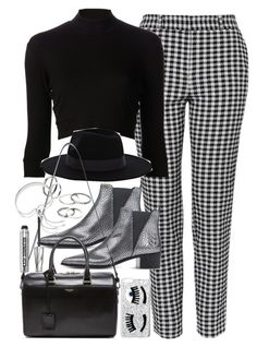 """""""Outfit for day to night"""" by ferned on Polyvore featuring Topshop, Again, Warehouse, Acne Studios, Yves Saint Laurent, Bare Escentuals, Chiara Ferragni, MANGO and Monica Vinader"""