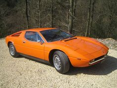 1974 Maserati Merak. Excellent colour choice.
