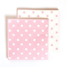Paper Napkins - Light Pink Polka Dot for $7.99 from The TomKat Studio Party Shop