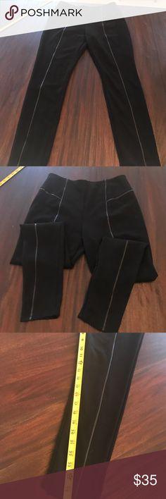 Lysse legging Size 29 trimmed in leather lysse leggings Pants Leggings