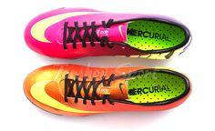 Nike mercurial vapor IX FireBerry , Sunset