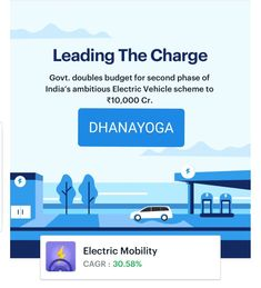 DHANAYOGA is pleased to announce the launch of Electric Vehicle (EV) thematic EV equity portfolio. To know more, reach us at DHANAYOGA Electric Vehicle, Electric Cars, New Launch, Budgeting, Product Launch, Vehicles, Budget Organization, Car, Vehicle