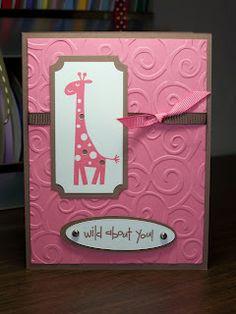 My Pink Stamper: Fun card