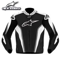 Alpinestars GP Tech Air Leather Jacket Black/Grey/White