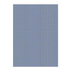 BERTA RUTA Tissu au mètre IKEA Tissu teint sur fil : le motif se voit aussi bien sur l'envers que sur l'endroit.