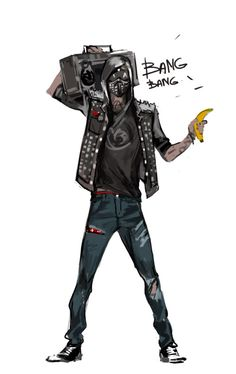 Guess it was inevitable; one cannot simply play and not fall for Wrench. Wrench Watch Dogs 2, Watch Dogs 1, Watchdogs 2 Wrench, The Power Of Music, Deadpool, Cyberpunk Character, Gaming Wallpapers, Shadowrun, Videogames