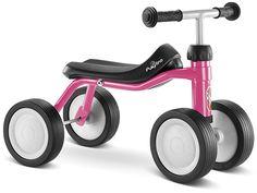 Puky Sitzroller Pukylino Lovely Pink #Kinderfahrzeug #Rutschauto #Rutscher #Rutschfahrzeug #Spielzeug #Puky