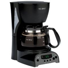 A must have. It makes just the right amount of coffee for the Misses and me each morning... two cups each... See this coffee pot here: http://www.amazon.com/gp/product/B0008JIW8U/ref=as_li_ss_tl?ie=UTF8=1789=390957=B0008JIW8U=as2=altegreeener-20