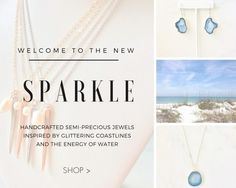 Hello, Bombshell!   After months of design and creating jewelry filled with positive energy and glittering coastline vibes, i'm thrilled to share this news with you!   You can now take a guided tour of the Chelsea Bond Jewelry catalog with my voice guiding you showing you the jewelry the whole way!   This is the next best thing to me sitting down right next to you (which I truly wish that I could do…with…