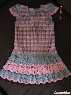 """Платье для дочки """"Розовая дымка"""""""