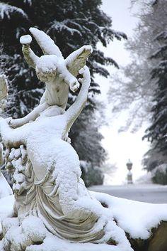 #snow #angels #christmas