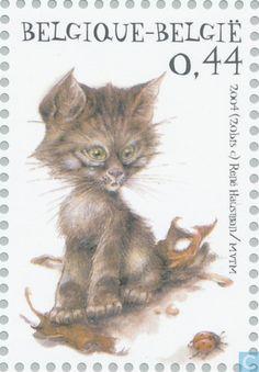 Postage Stamps - Belgium [BEL] - Animals