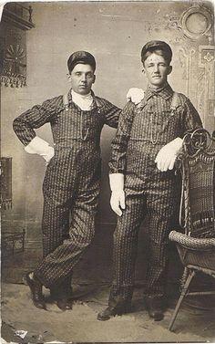 workwear vintage nas ferrovias