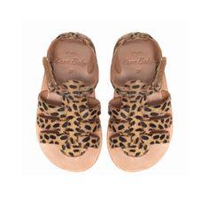 Leopard print sandals - baby zara