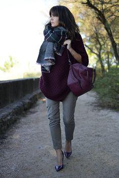 Alexandra Pereira Lovely Pepa | Bgo&Me cape Suiteblanco pants Zara shoes Dimoni – Stylisim bag Zara scarf #streetstyle