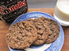 *Nutella Peanut Butter Crack Cookies*