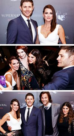 SPN cast celebrates at the 200th episode party