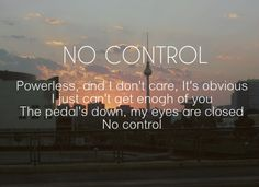 No Control, One Direction #ProjectNoControl