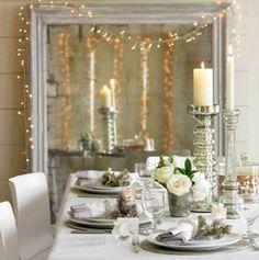Christmas Decorating Theme: Natural Wonderland | Homes Design | homefurniturecatalogs.com