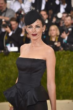 Pin for Later: See All the Stunning Head Pieces From the Met Gala Red Carpet Liberty Ross