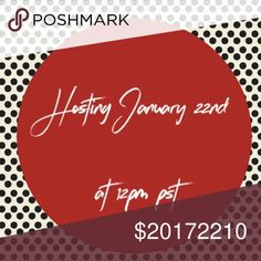 Less than an hour away!! LETS SHARE & SELL! Join me in my quest to promote NEW, FRESH, STYLISH & POSH CLOSETS!  TAG SHARE SHOP & CELEBRATE 🎉 Dresses