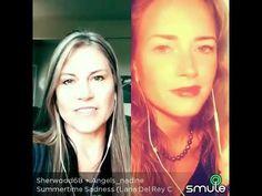 Duet with my friend Tonya. Wonderful harmonies - i love her voice. Everyone can join me in sing - smule karaoke app. Let's sing together. Summertime Sadness, Karaoke, My Friend, Love Her, Singing, Songs, Youtube, My Boyfriend, Youtubers