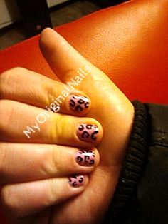 Retro Leopard -MyOriginalnails