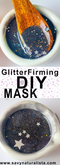Make this easy glam glow firming glitter mask copycat that is not only firming to the skin but will make your skin feel like butter without breaking the bank!