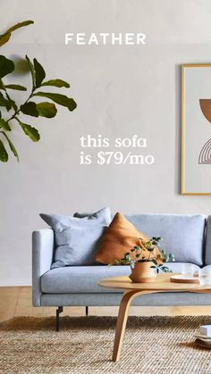 Get access to quality furniture at a low monthly price with the option to add, swap, buy, or return when life or tastes change. Online Furniture, Furniture Decor, Furniture Design, Living Room Paint, Living Room Sofa, West Elm Bedroom, California Apartment, Scandinavian Bedroom, High Quality Furniture