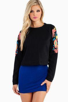 Flauna Sweater $36 at www.tobi.com