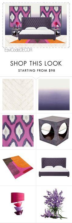 """""""purple"""" by silvia-esvicode on Polyvore featuring interior, interiors, interior design, Casa, home decor, interior decorating, Andrew Martin, Designers Guild, Mariska Meijers e Nearly Natural"""
