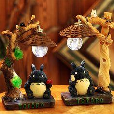 Cute Anime Totoro Japanese-style Lamp - Daily Otaku Things
