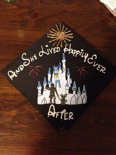 Disney Graduation Cap! Class of 2014!
