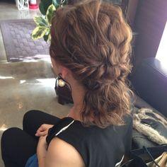 ヘアアレンジ♡ の画像|My Style Work Hairstyles, Long Bob Hairstyles, Party Hairstyles, Wedding Hairstyles, Shot Hair Styles, Hair Arrange, Hair Setting, Asian Hair, Style Vintage