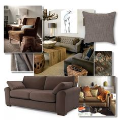 Interior Inspiration - Earthy Browns | Brown is earthy and rich, yet calming and neutral. Choose from dark, chocolately shades or lighter caramels and coffees to decorate your lounge. Brown leather is timeless and stylish, whilst brown velvet and linen are decadent and inviting... #theloungeco #trend #brown #earthy #tonal #sofa #chair #leather #velvet #fabric #interiorinspiration #lounge #rustic #stylish Sofa Chair, Sofa Bed, Couch, Leather Sofa, Brown Leather, Traditional Sofa, Caramels, Comfortable Sofa, Calming