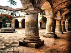 Una de tantas majestuasidades de nuestra Antigua Guatemala !!
