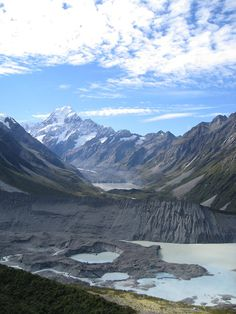 Aoraki, Mount Cook , South Island, New Zealand