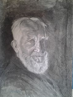 George Bernard Shaw 100 x 72 cm