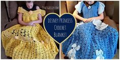 It's Disney Fever around here, So when I came across these amazingly beautiful/adorable blankets I knew I had to share with you. These blankets are designed to look like a princess dress. Sli…