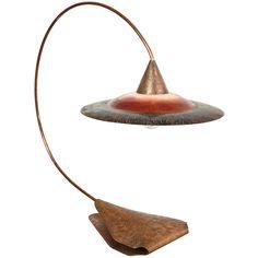 Original 1970's Table Lamp