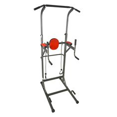 I J Fitness Vertical Knee Raise VKR / Chin up/ Push-up /Dip/Ab Workout Deluxe Tower Station