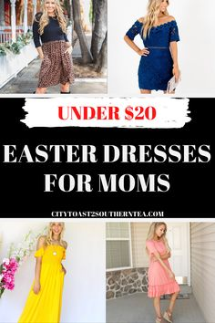 Looking for some new spring dresses at an affordable price? On a budget but want to still purchase that modern look. Check out these pieces under $20 #springdresses #fashion #dresses #easterdresses Comfy Dresses, Zara Dresses, Fashion Dresses, Easter Outfit, Easter Dress, Floral Maxi Dress, Striped Dress, Off Shoulder Fashion, Plaid Design