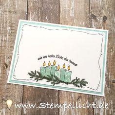 Doodle-Rand mit Gastgeberinset Freude im Advent von Stampin´Up!